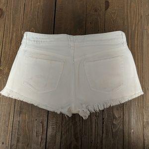 Bullhead Shorts - Bullhead white Jean shorts